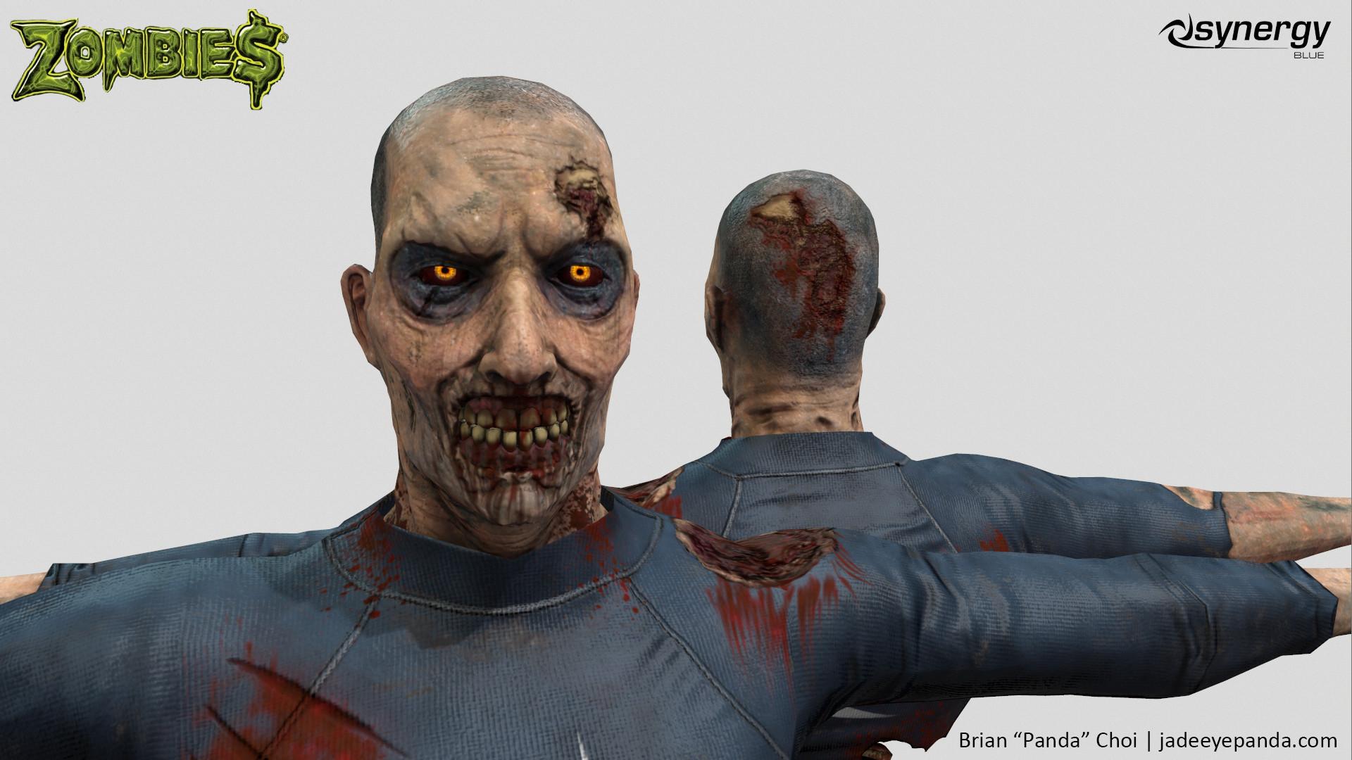 Brian panda choi zombie synergyblue headmodel1