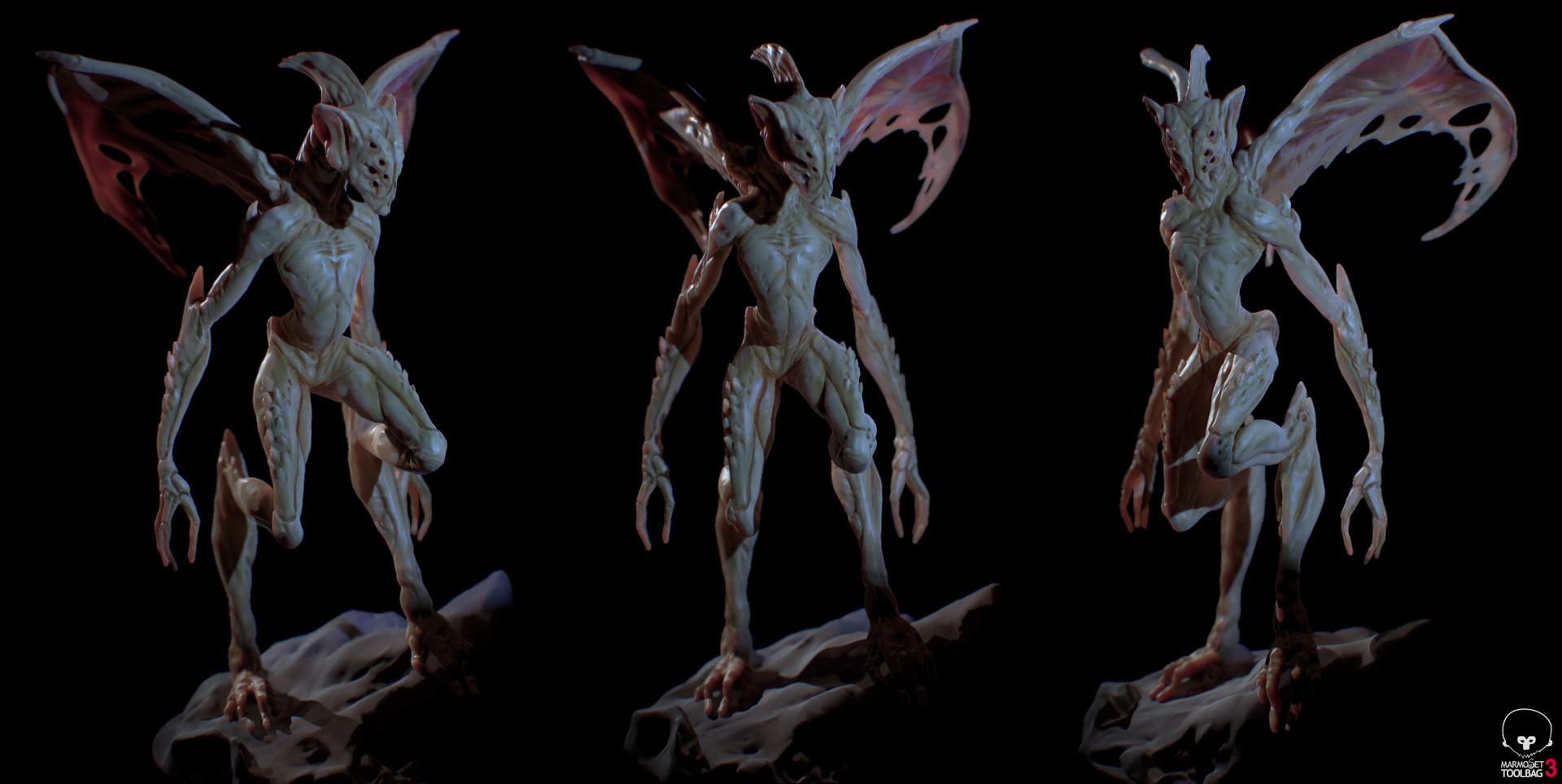 Ilhan yilmaz creature render 06