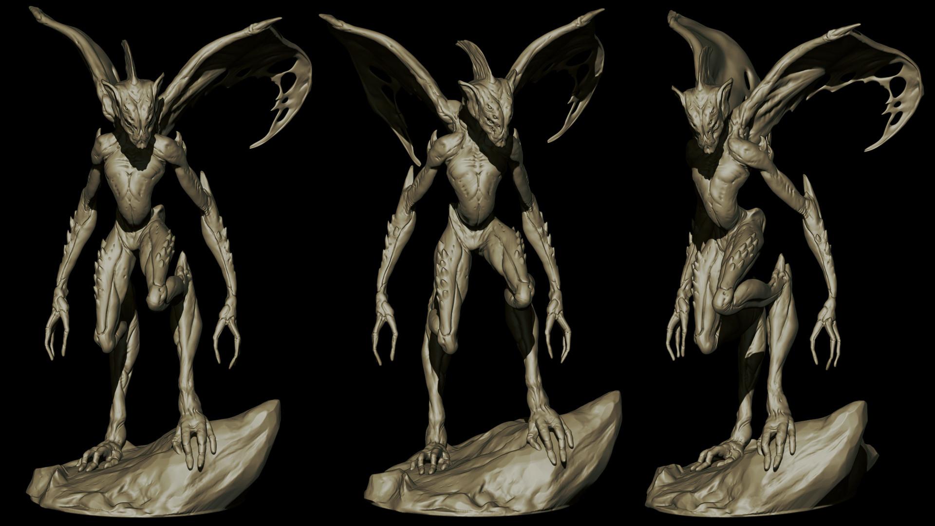 Ilhan yilmaz creature render 08