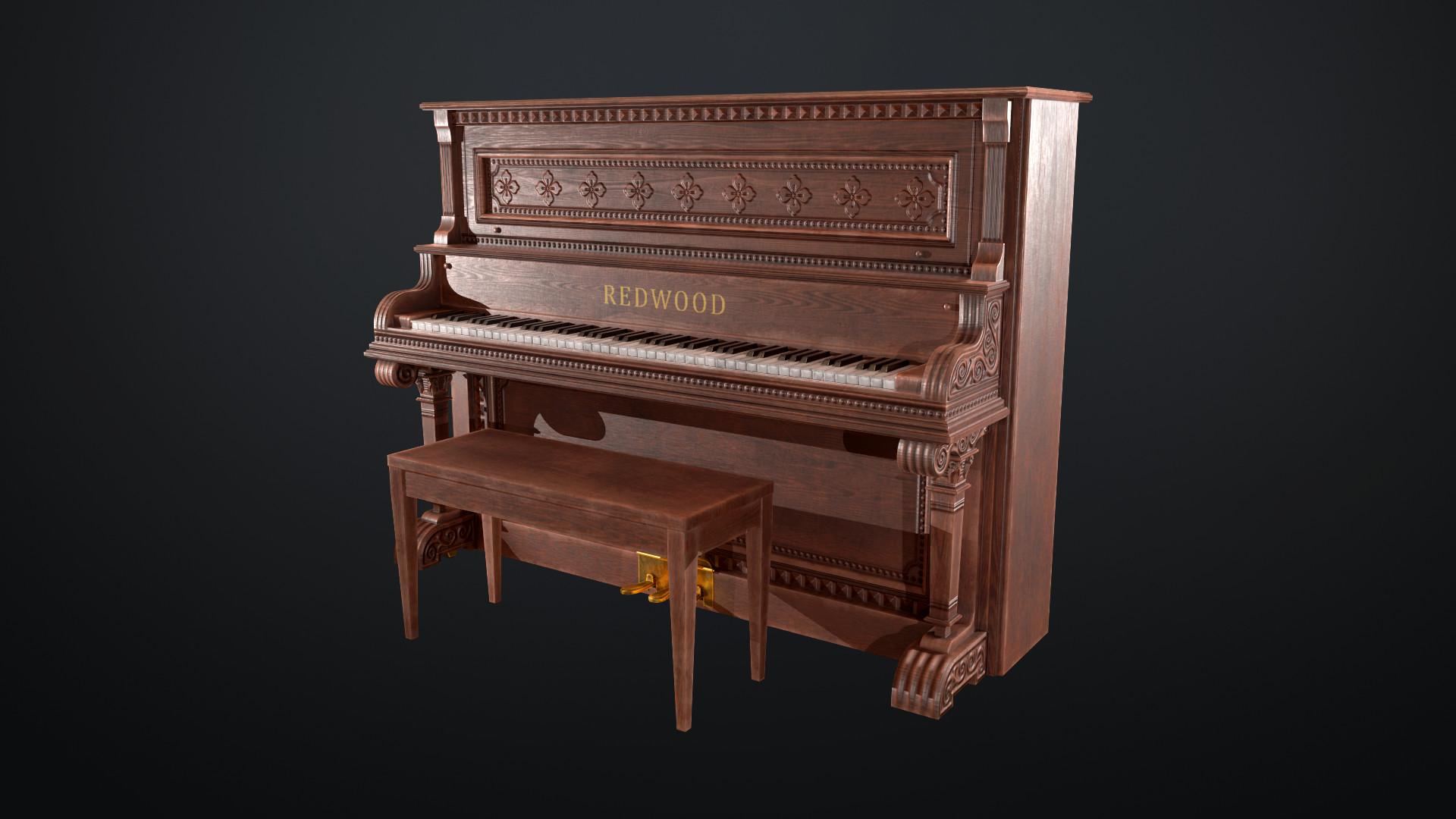 Sami tarvainen piano render 2