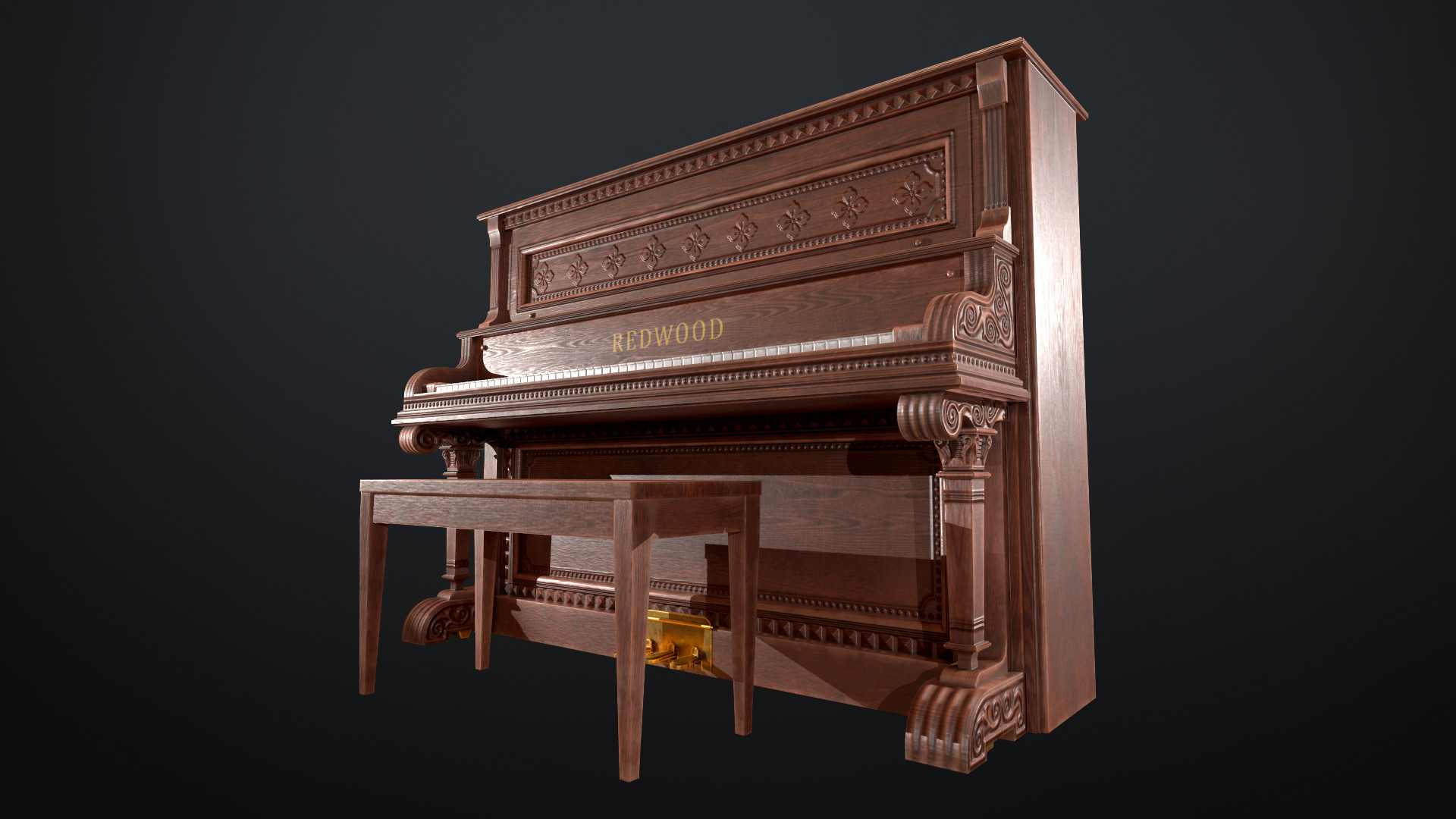 Sami tarvainen piano render 4