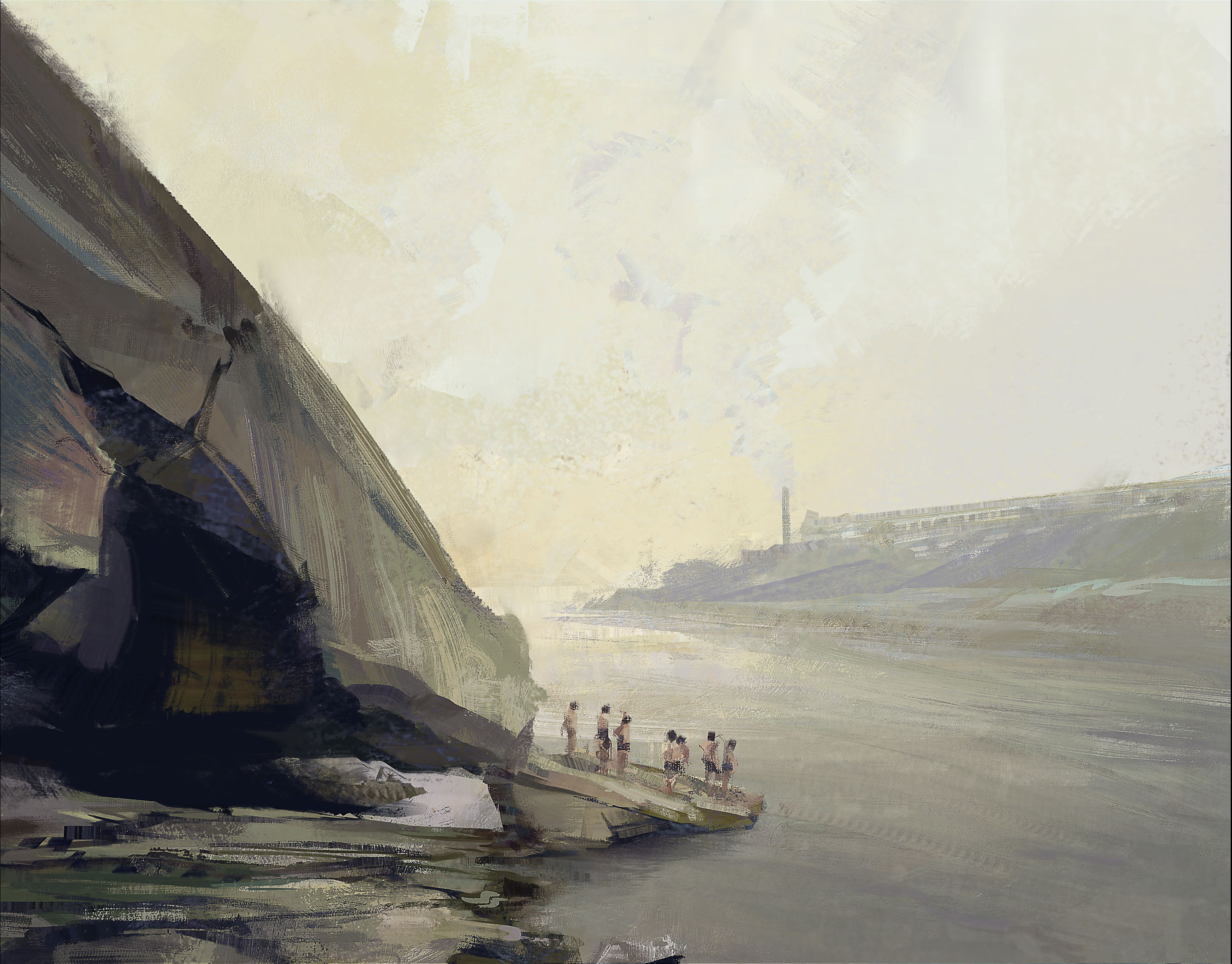 Yangtze swimmers