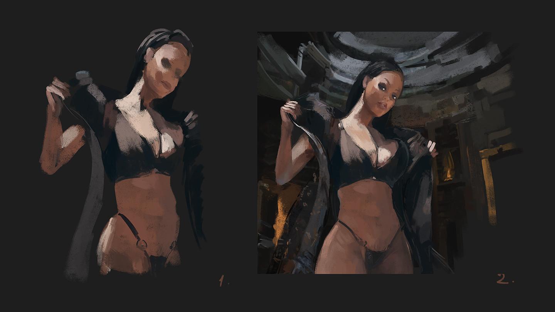 Sergey musin priestess2 wip