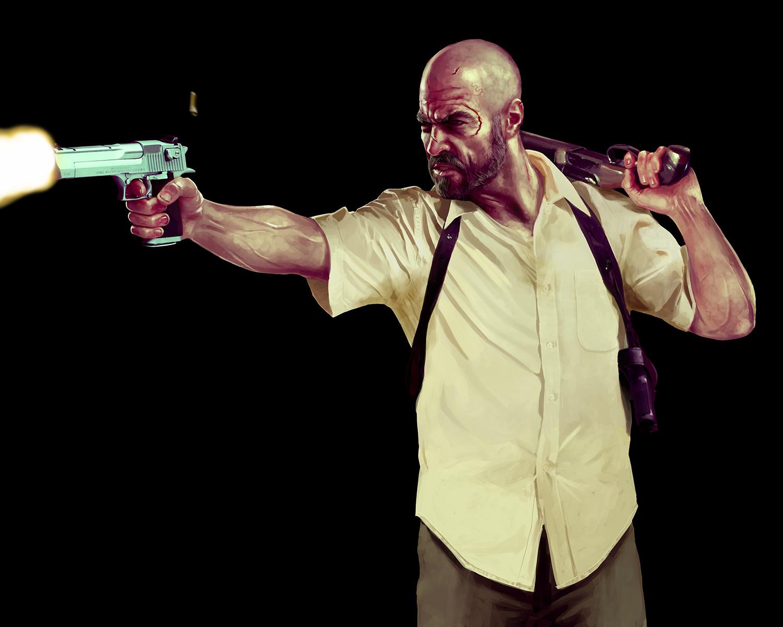 Artstation Max Payne 3 Anthony Macbain