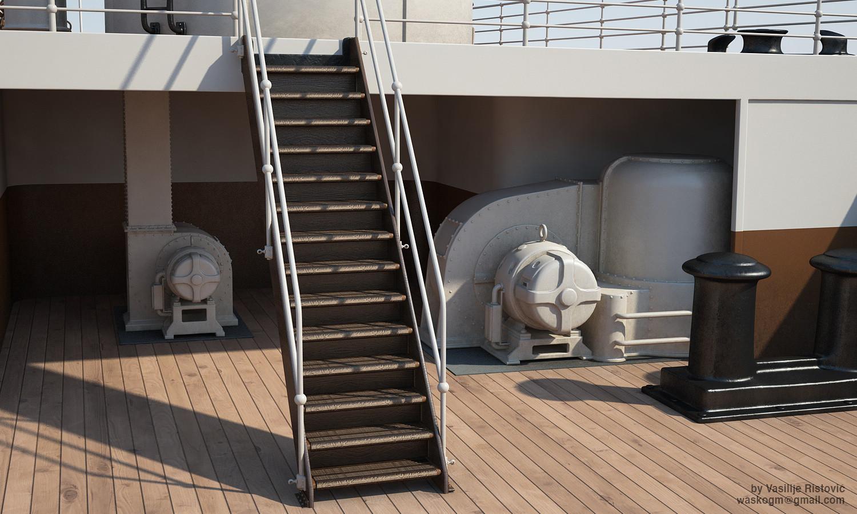 Montage Titanic Trumpeter 1/200 - Page 10 Vasilije-ristovic-titanic70