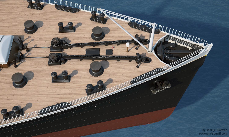 Montage Titanic Trumpeter 1/200 - Page 10 Vasilije-ristovic-titanic74