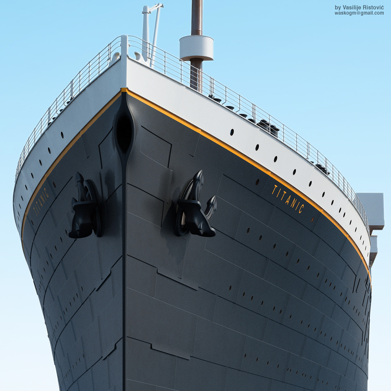Montage Titanic Trumpeter 1/200 - Page 10 Vasilije-ristovic-rms-titanic-by-waskogm-thumb