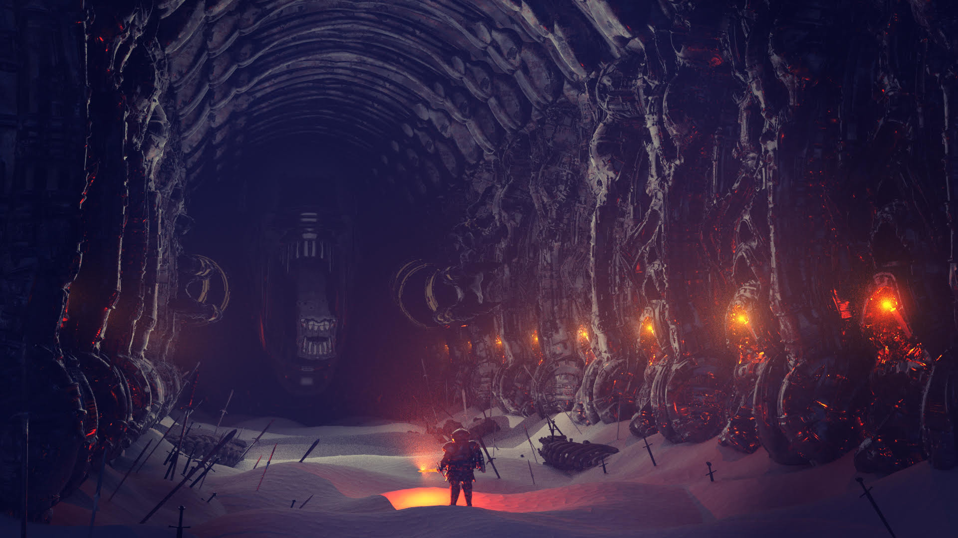 Ben nicholas bennicholas aliens darksouls lordacheron 02