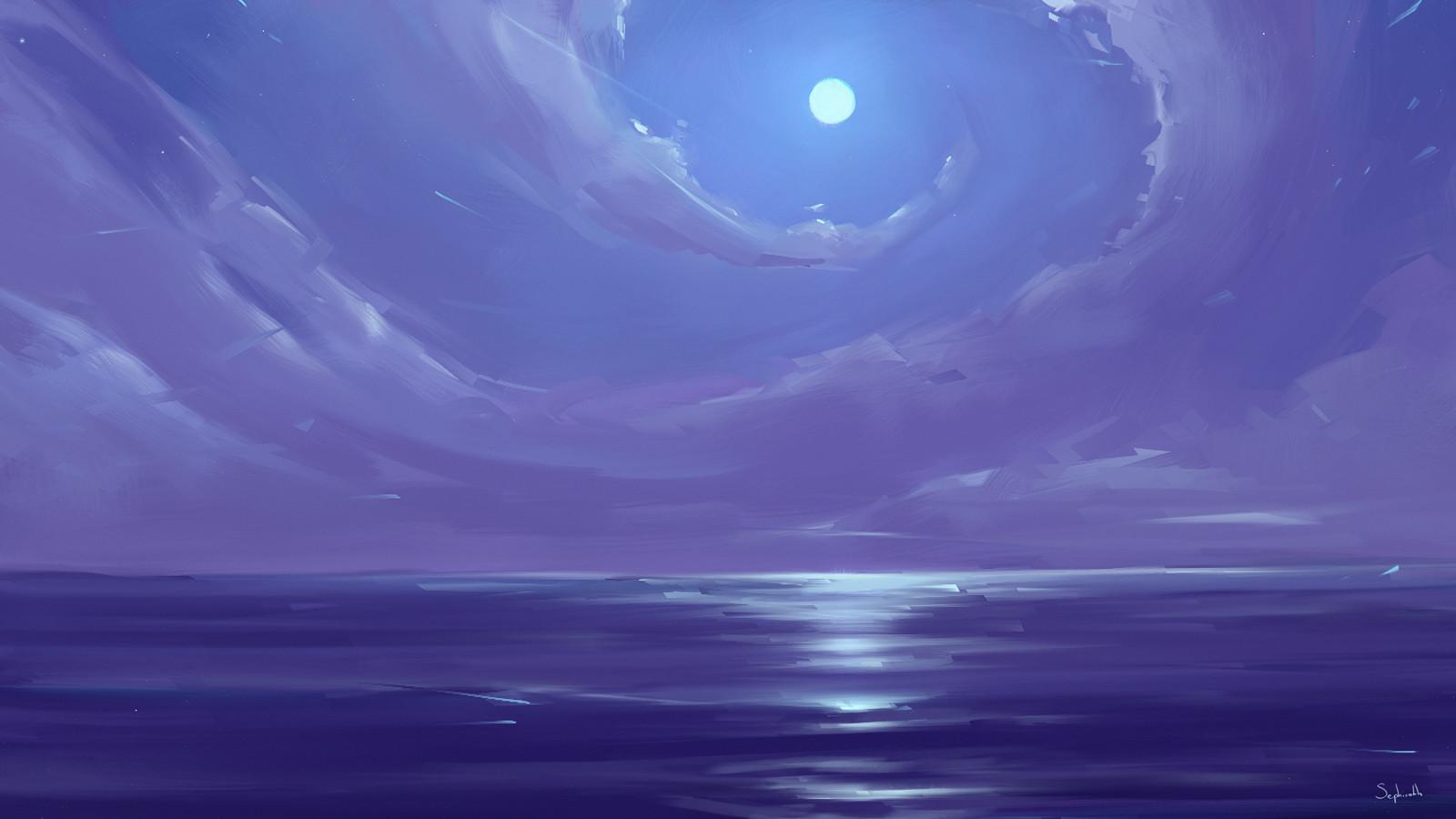 Sephiroth art edge