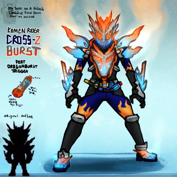 Tom salmon cross zburst