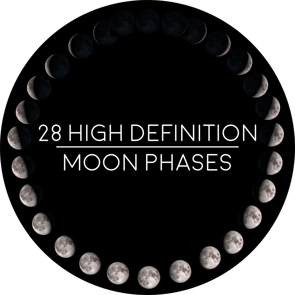 ArtStation - 28 Moon Phases: NASA, James Greener