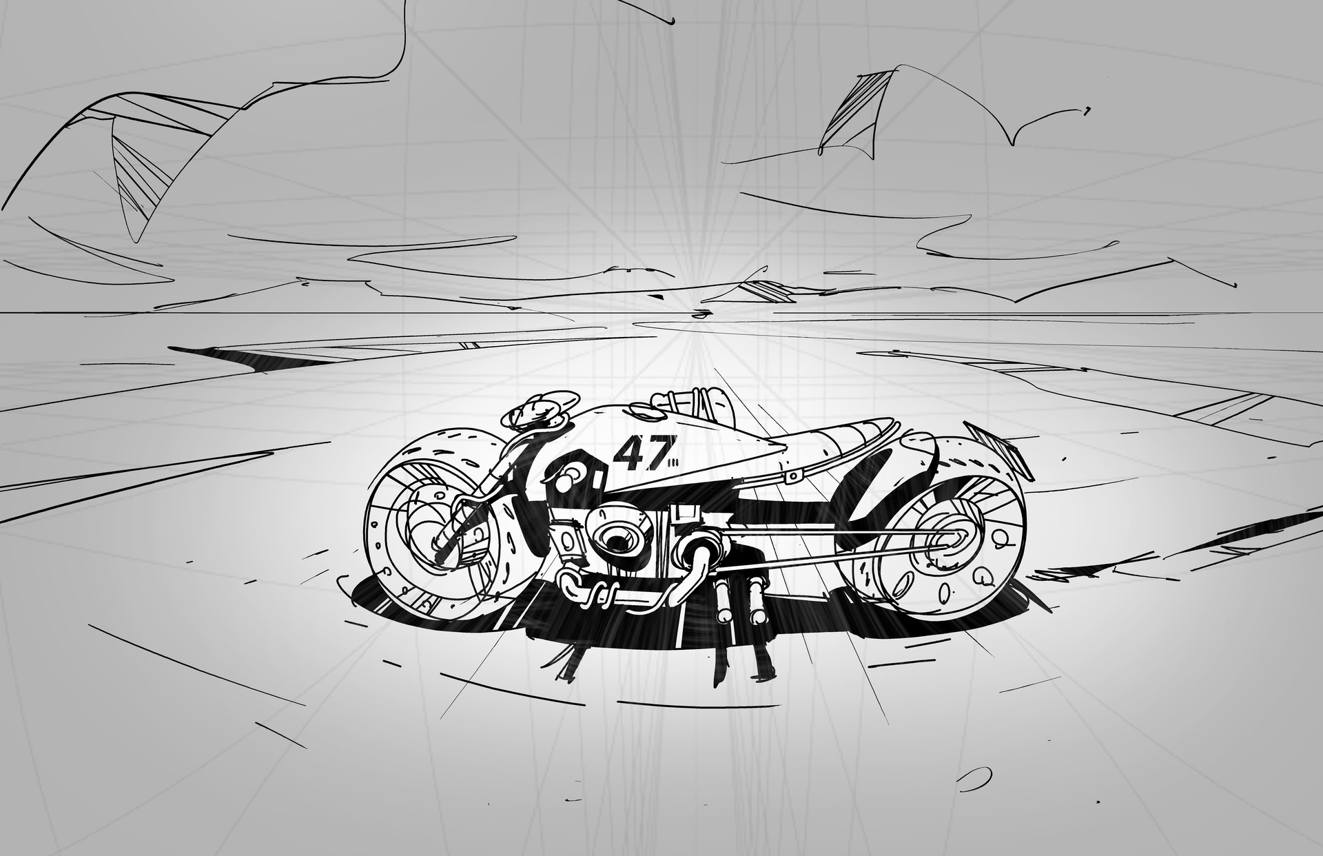Matt tkocz bikesketch