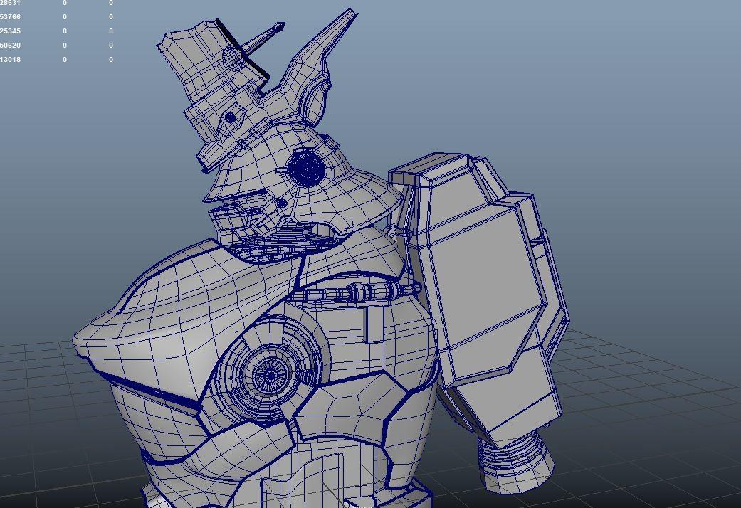 I built a basic shape then I added more details later.