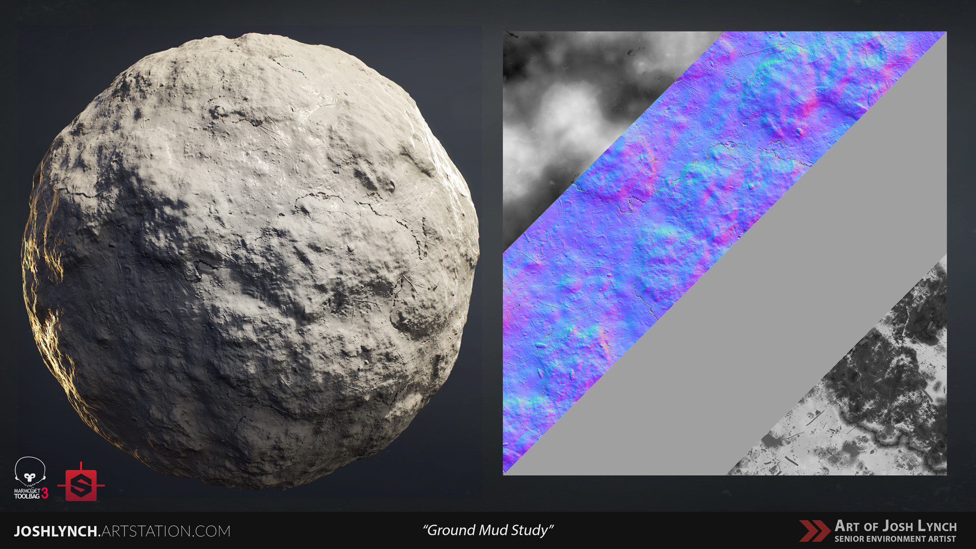 Joshua lynch ground mud 01 sphere 01 gray