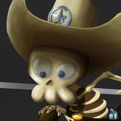 CowboySkull