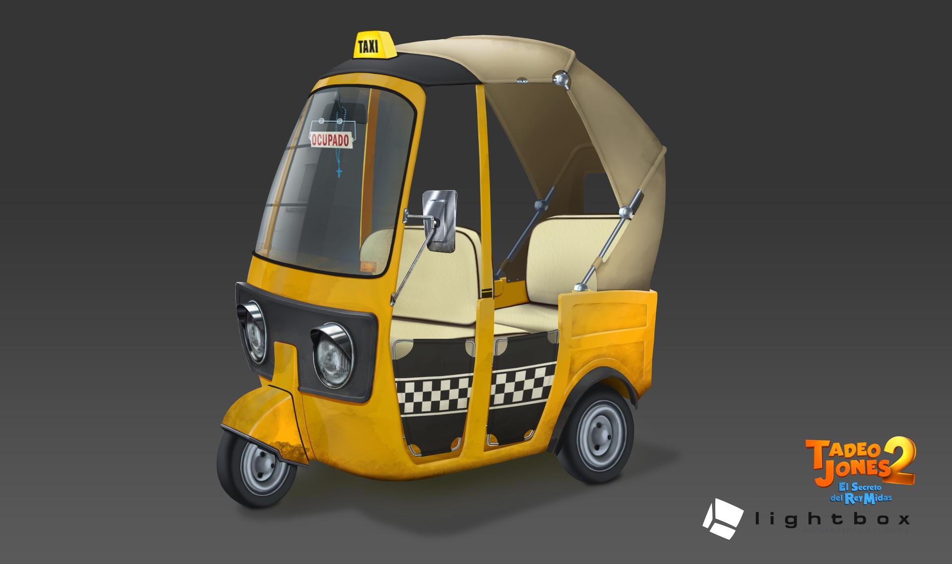 Angel oromendia autorickshaw solo