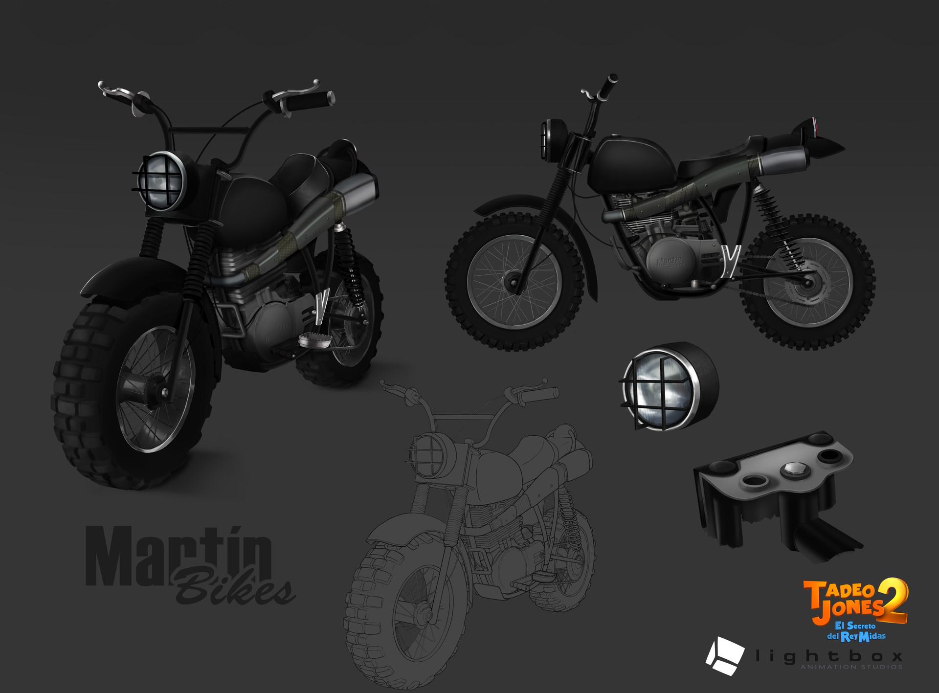 Angel oromendia motorcycle