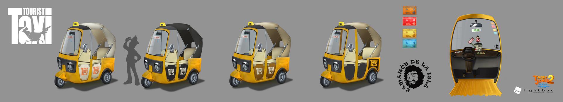 Angel oromendia autorickshaw