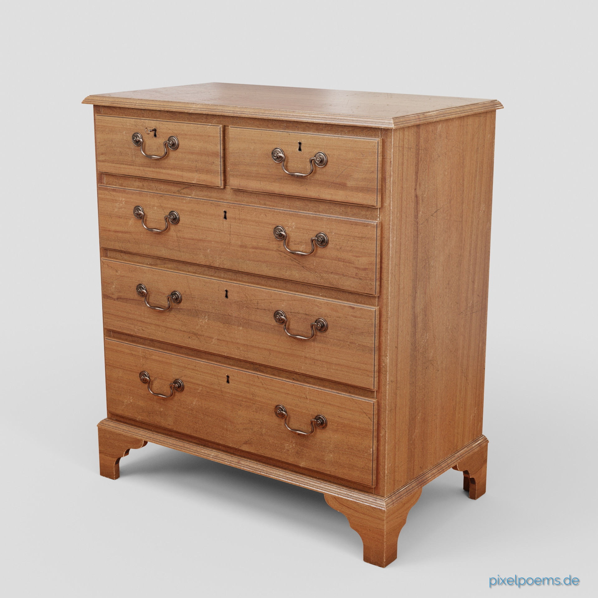 Karl andreas gross mahagony chest of drawers webversion 00