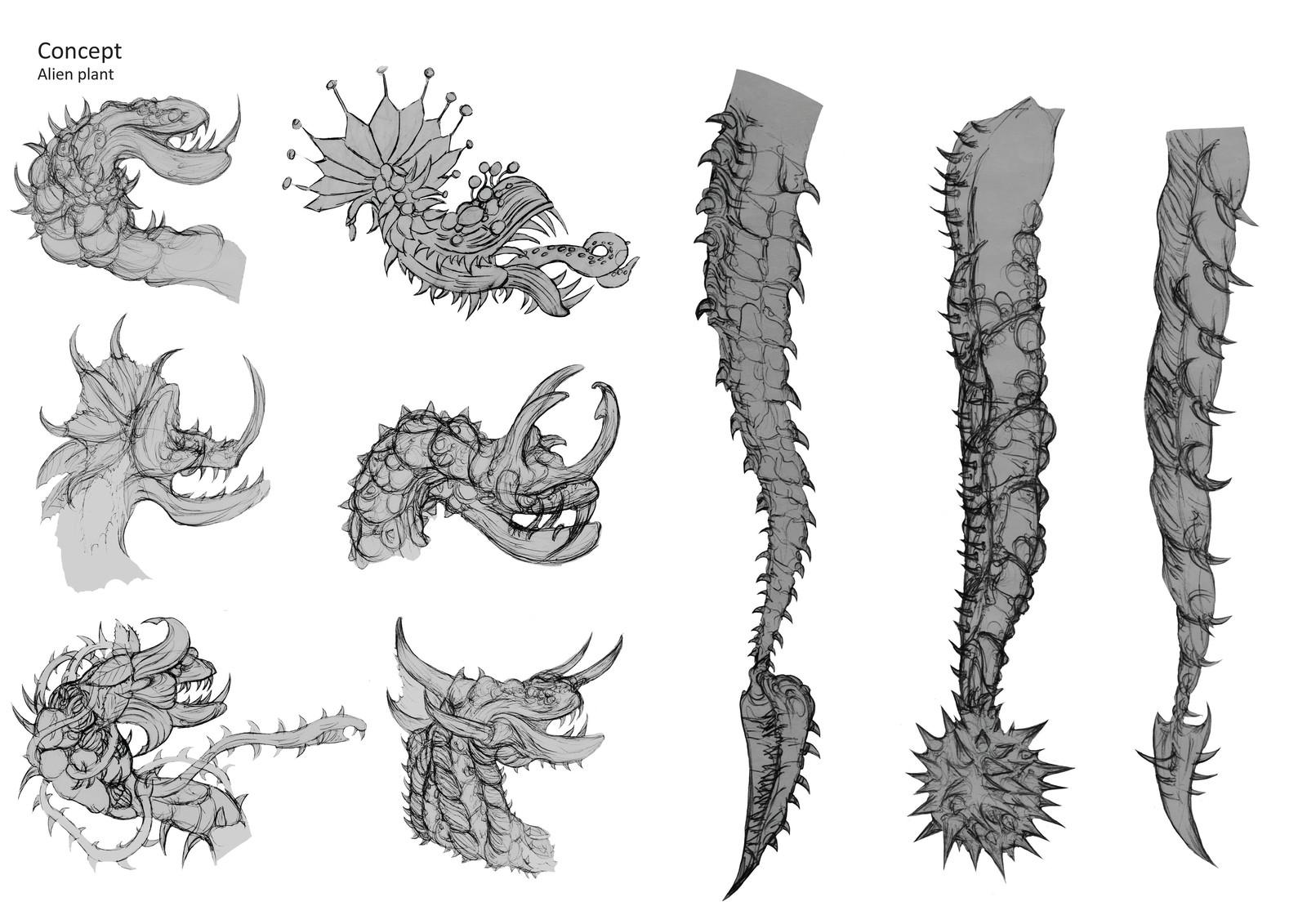 monster art design