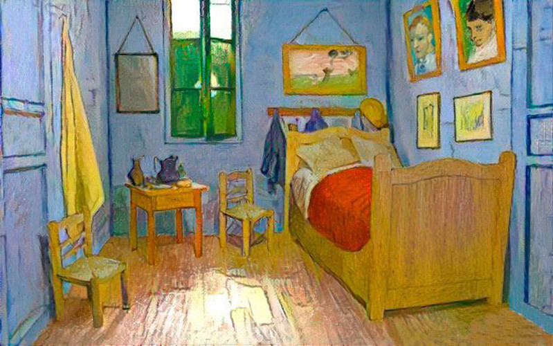 Carles Ferrero - Van Gogh's Bedroom in Arles 3D on water lilies, vincent van gogh, room at arles van gogh, olive trees, bedroom at arles by van gogh, van gogh museum, room in arles van gogh, the bedroom van gogh, cafe terrace at night, yellow house, wheat fields, the starry night, starry night over the rhone, bedroom in arles 1889, bedroom van gogh painting oil, bedroom vincent van gogh ppt, sesame street bedroom van gogh, portrait of dr. gachet, self-portraits by vincent van gogh, the potato eaters, wheat field with crows, sunday afternoon on the island of la grande jatte, bedroom in arles high resolution, church at arles van gogh, the church at auvers,