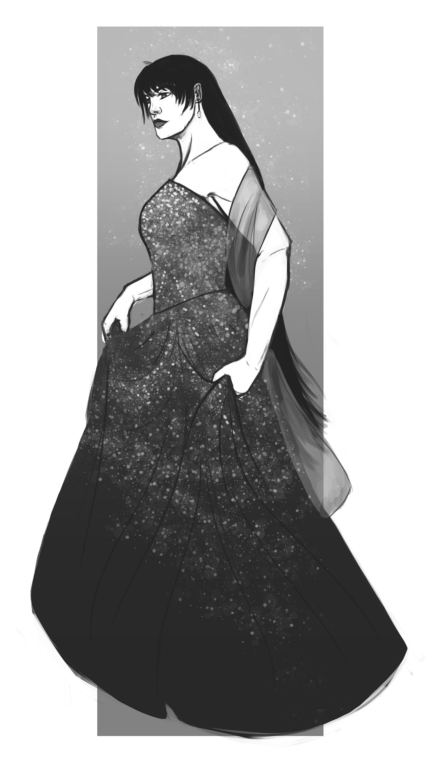 Tiia van lokven naya gown 2 large