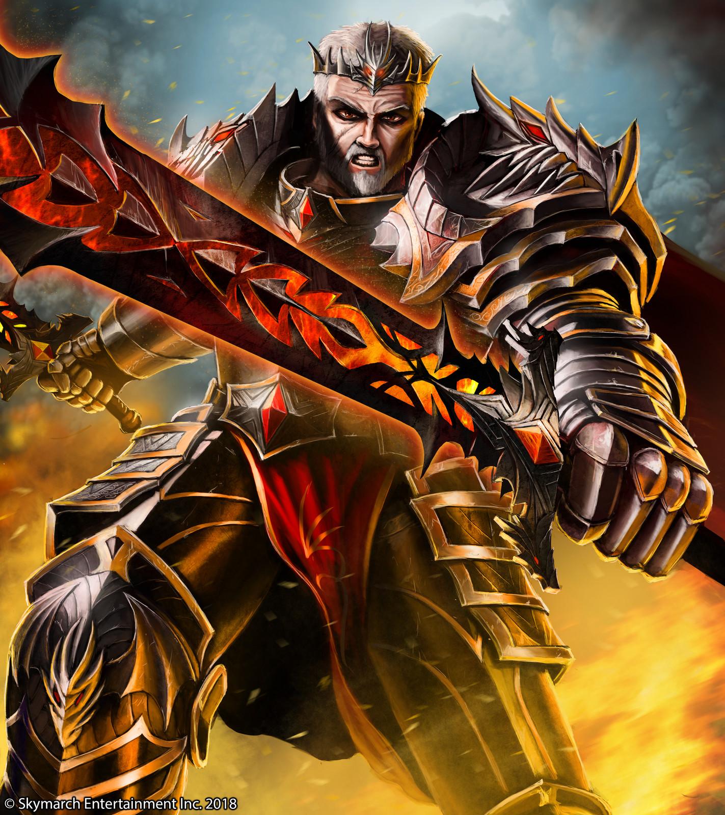 Davarok, the mad king