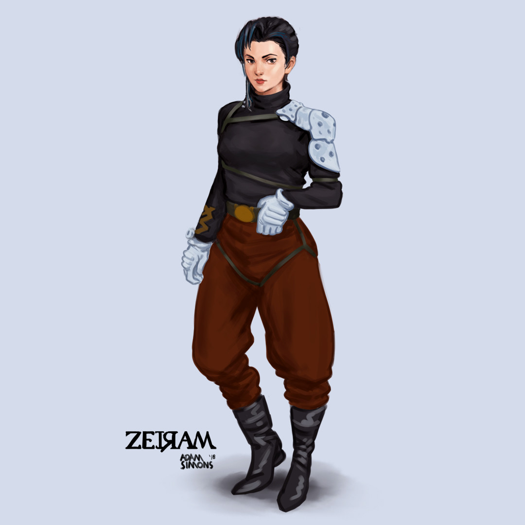Fanart of Iria from Zeiram