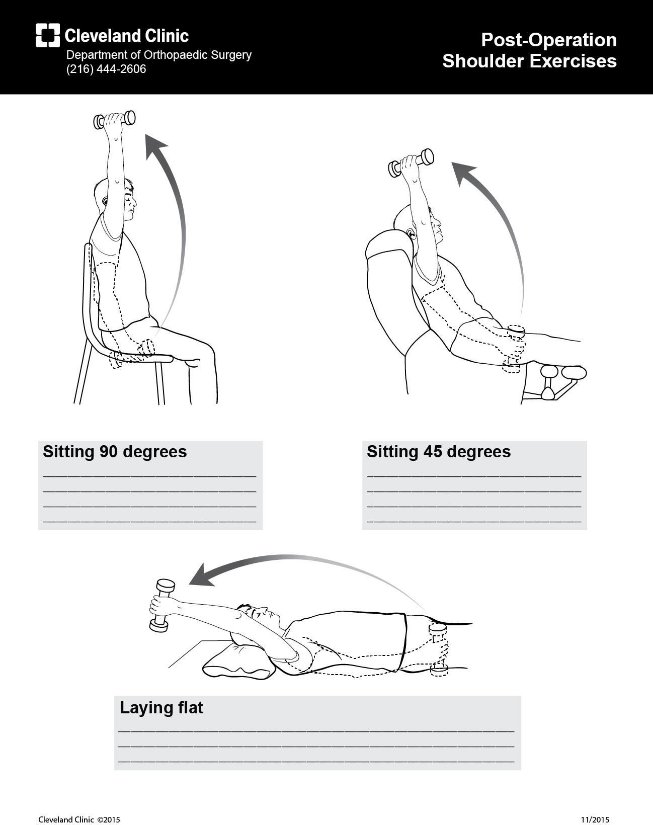 Lauren Ulrey - Post-Operation Shoulder Exercises