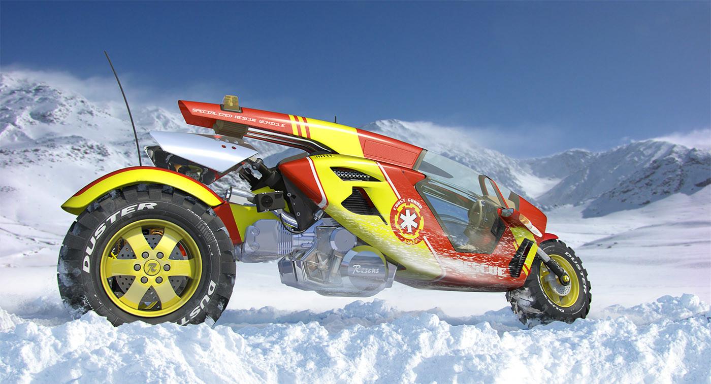 Mirsx agic rescus snow