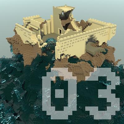 Guillaume lambolez island castle a square
