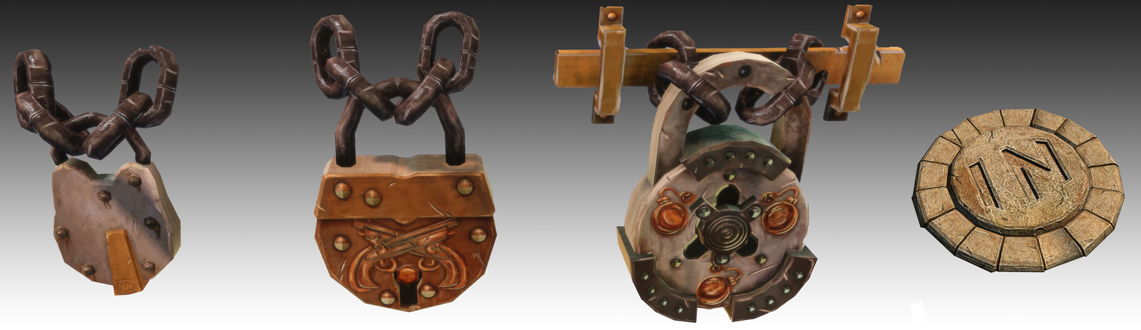 Props for Disney Infinity: Pirates of the Caribbean Play-Set
