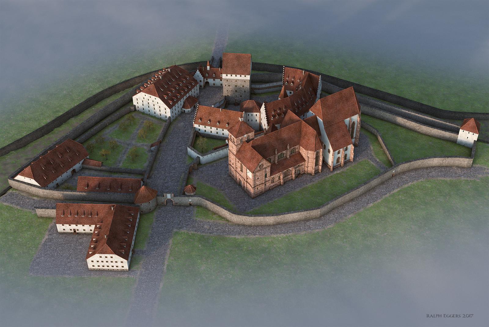 Reconstruction of Pforzheim residence