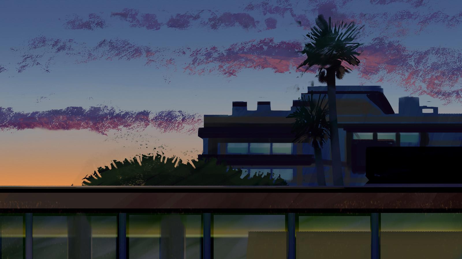 Troiia Sunset