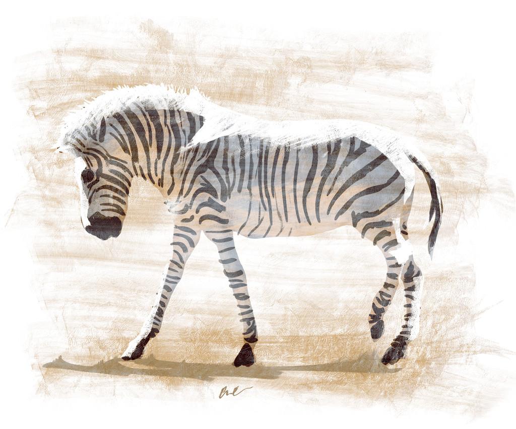 Cameron clow zebra painting clow