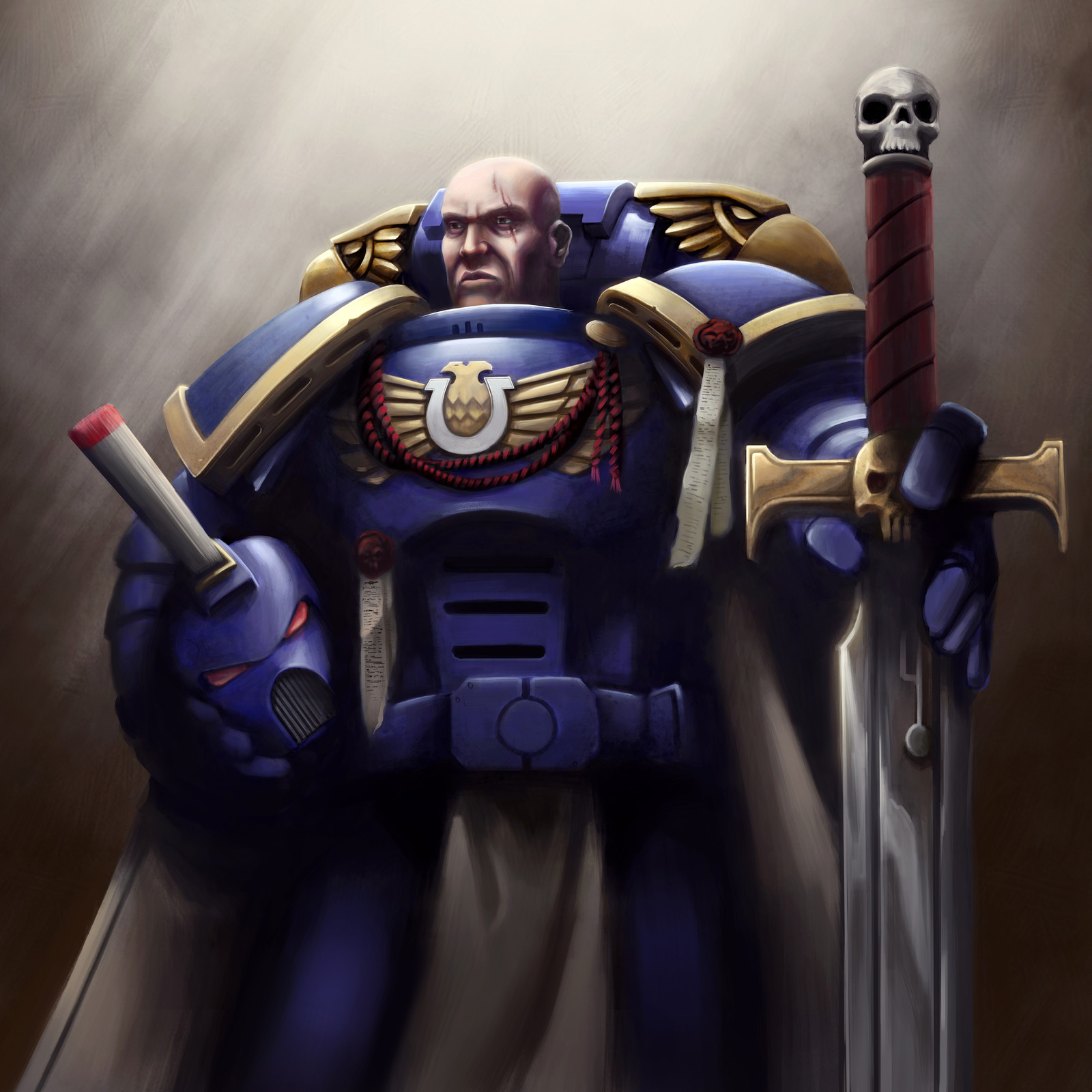 Ultramarine Captain