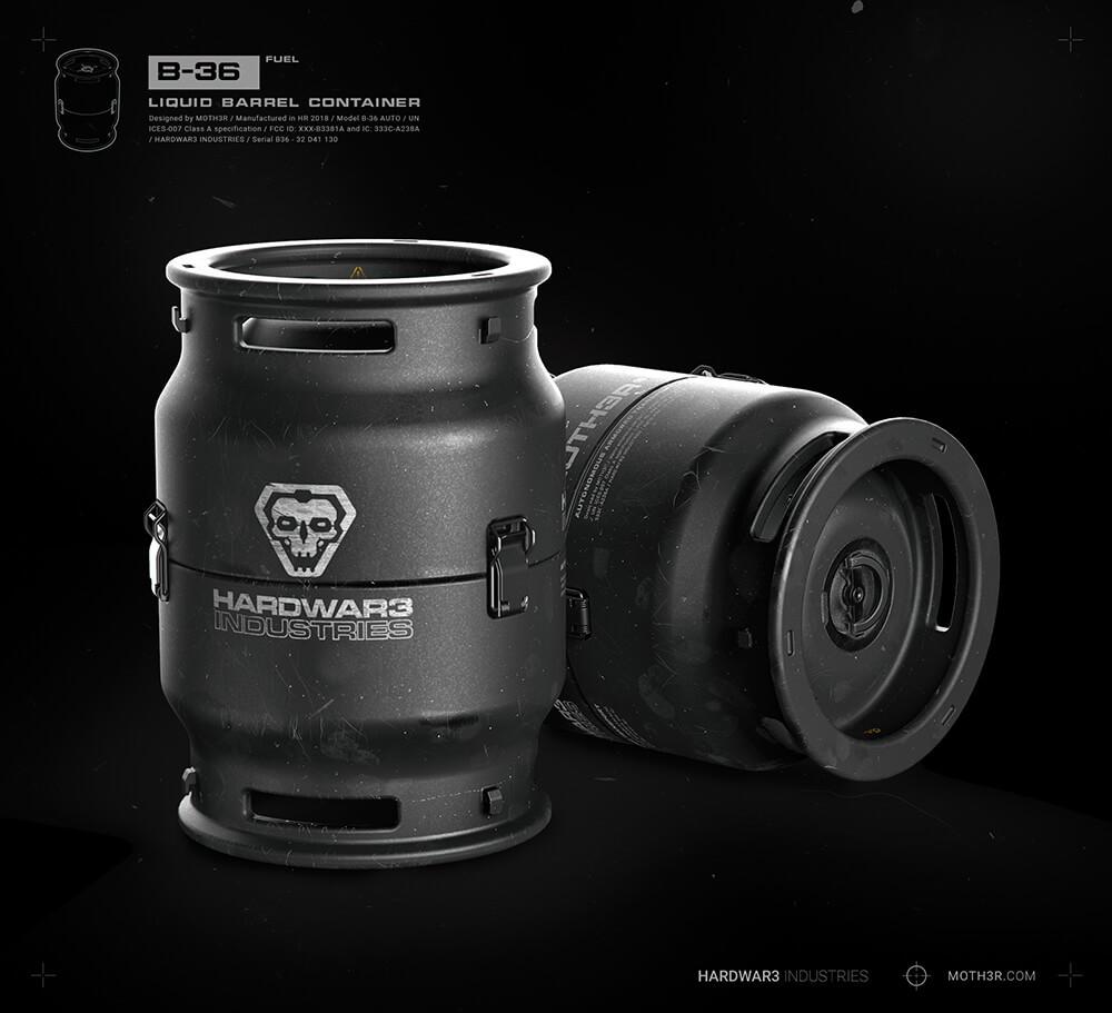 Ivan santic barrel c01 x