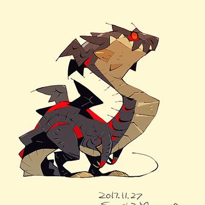 Satoshi matsuura 2017 11 22 dragon