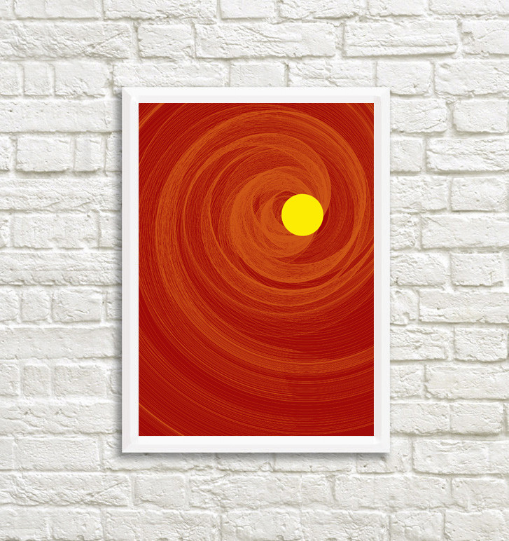 Rajesh r sawant the sun mockup