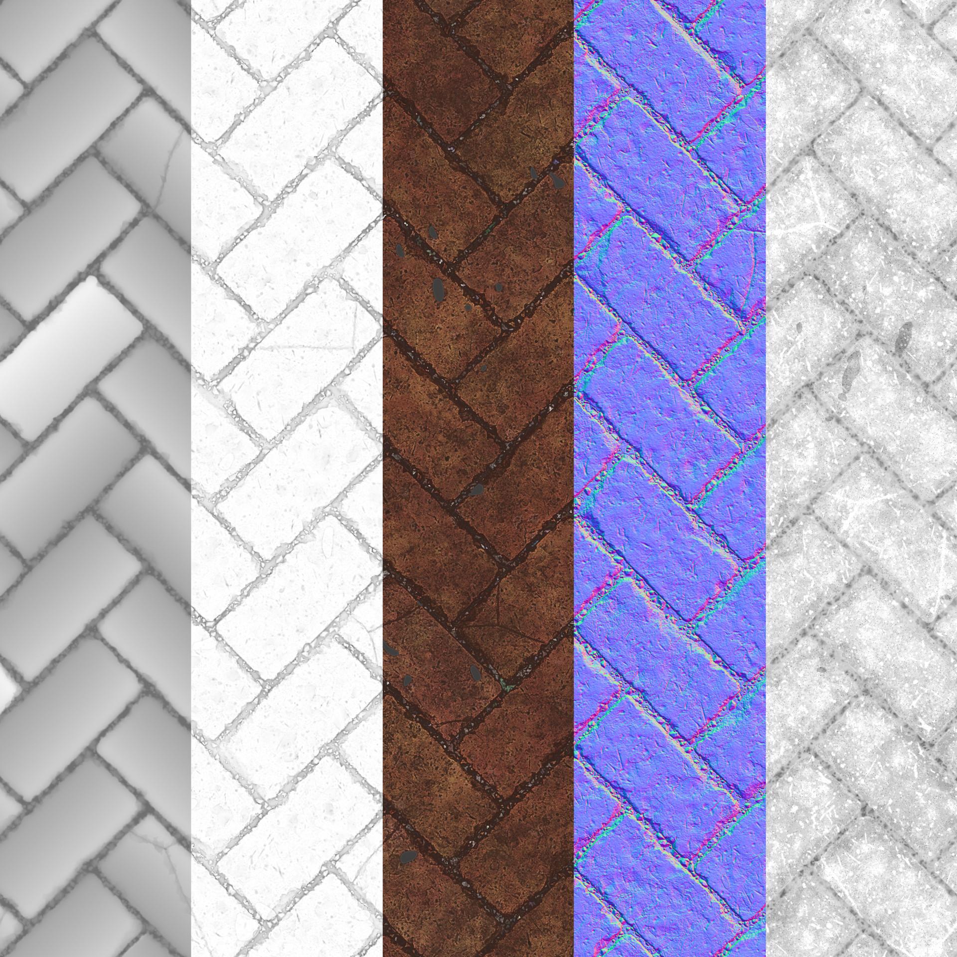 Roberto quye herringbone textures