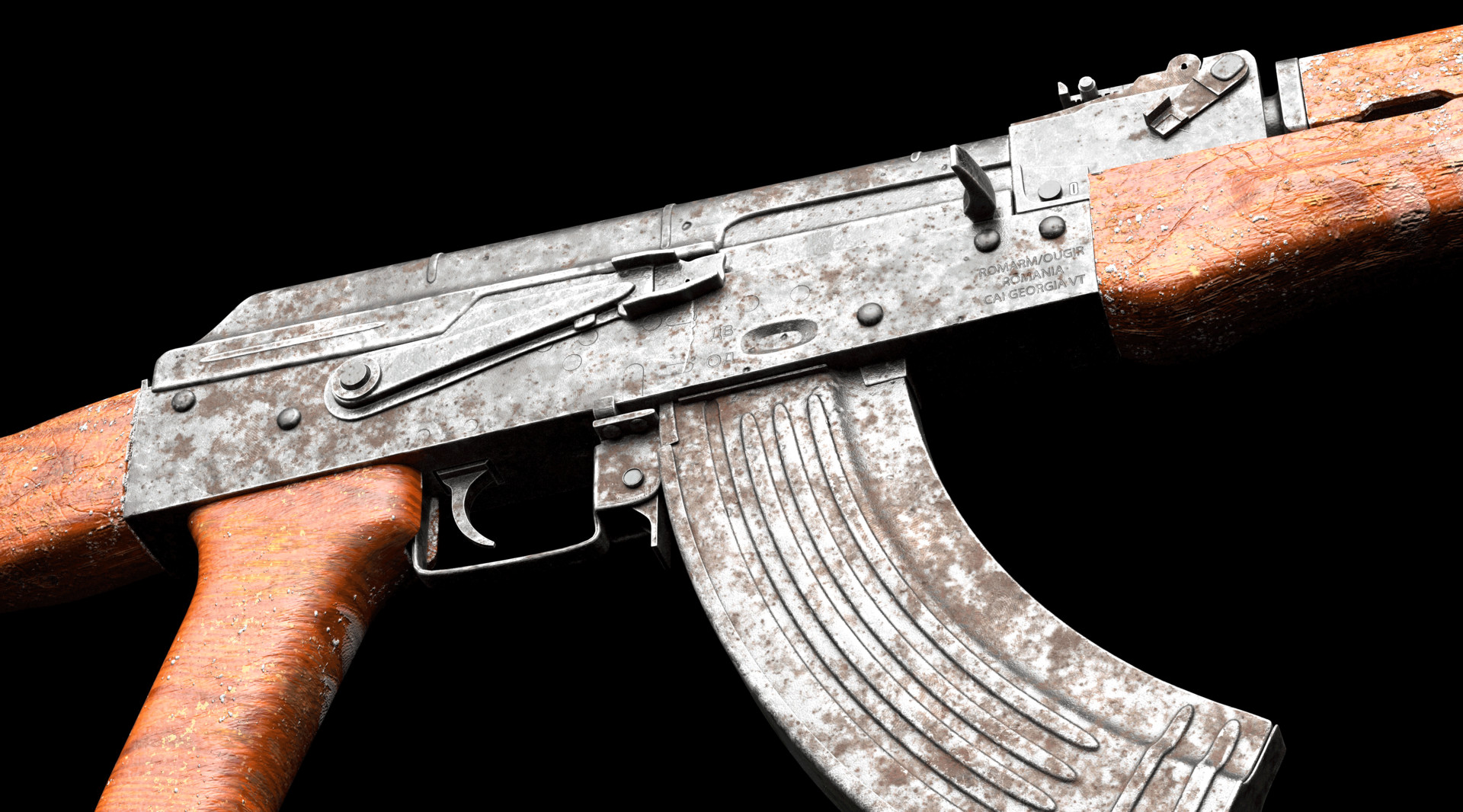 AKM Roughness test