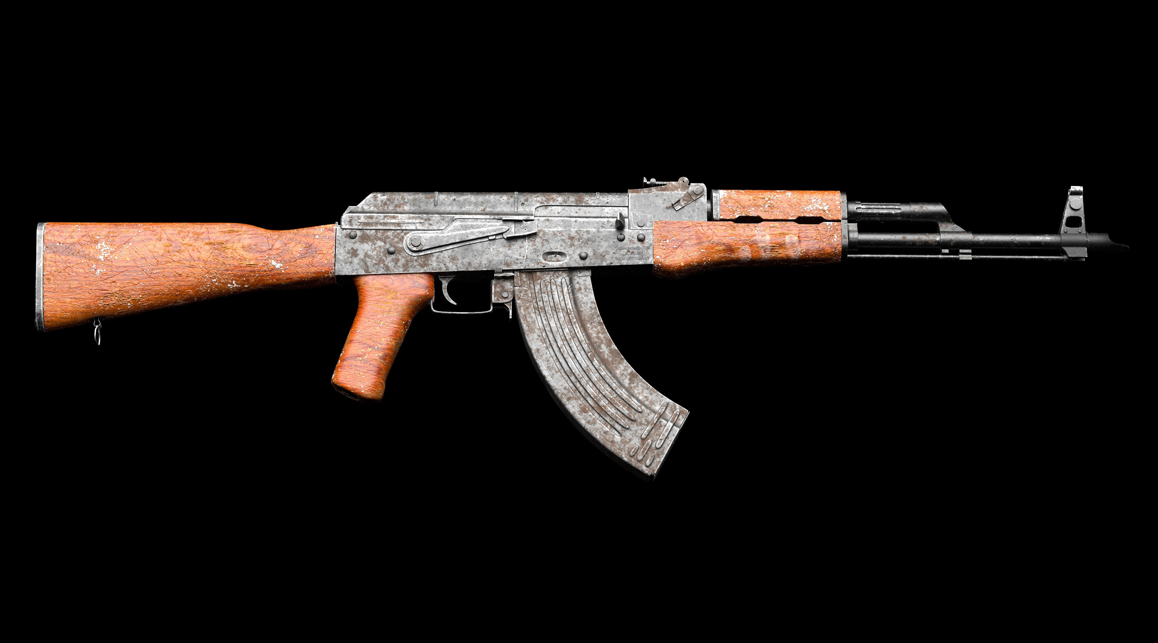 AKM textured in SP