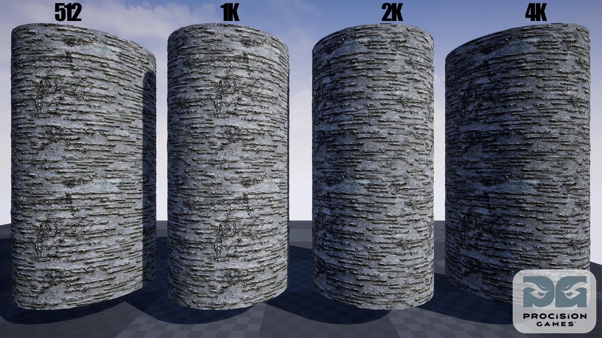 ArtStation - High-Quality Photogrammetry Bark Materials UE4 Asset ...