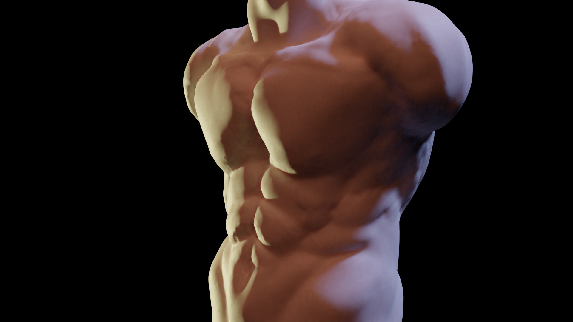 Quick sculpt during lunch. ~40mins