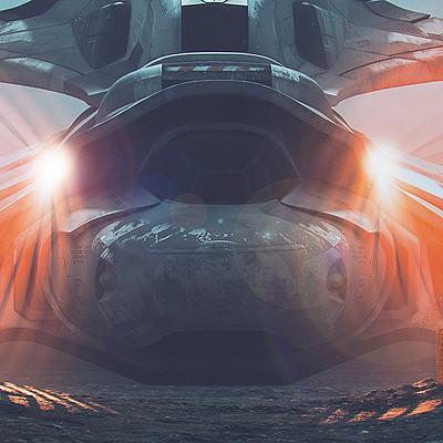 Alireza seifi spaceship 014