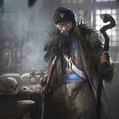 Morgan yon alchemist