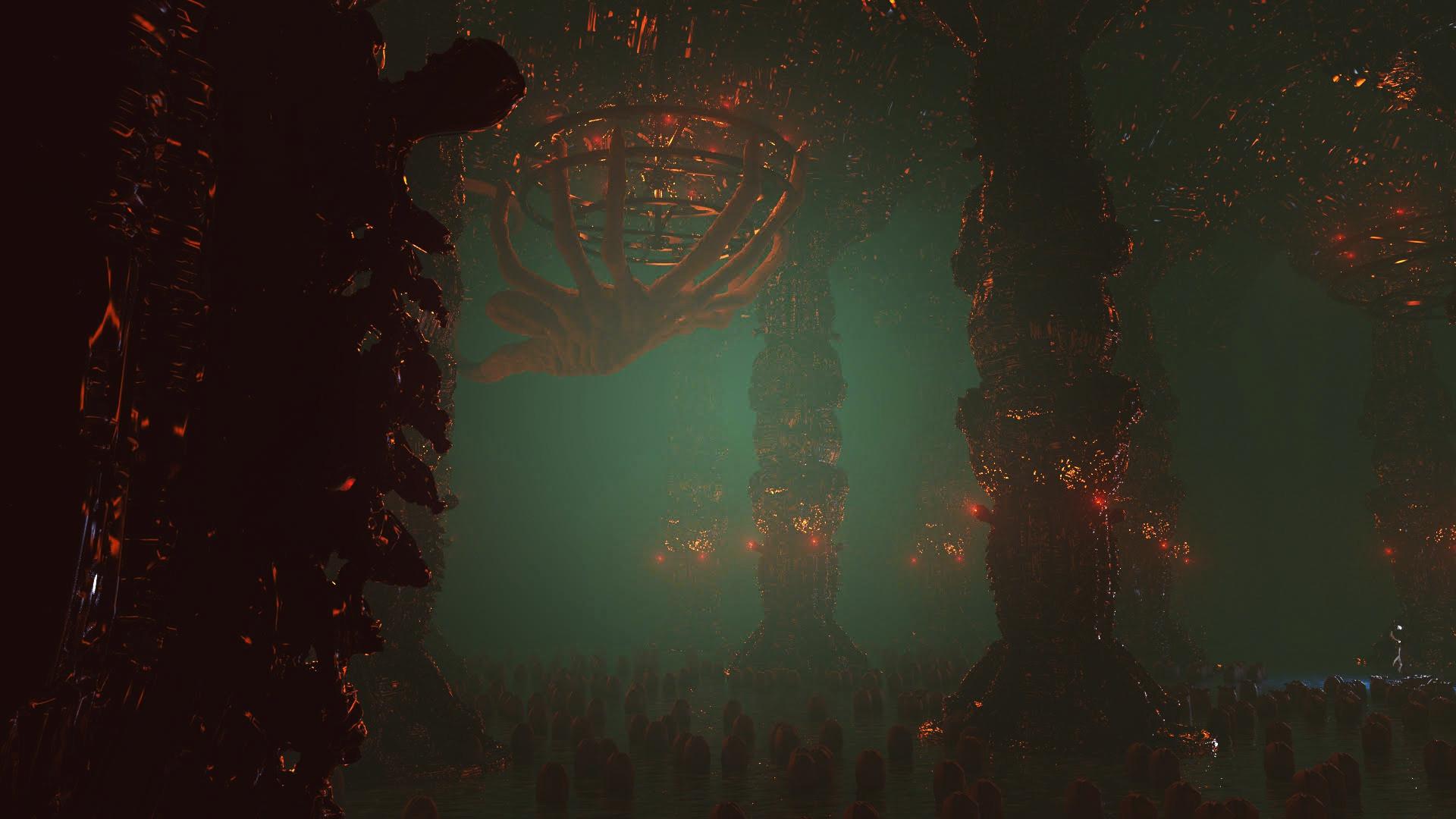 Ben nicholas bennicholas aliens darksouls quelaagshatchery 02