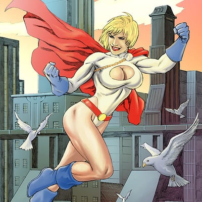 Fernando merlo powergirl color