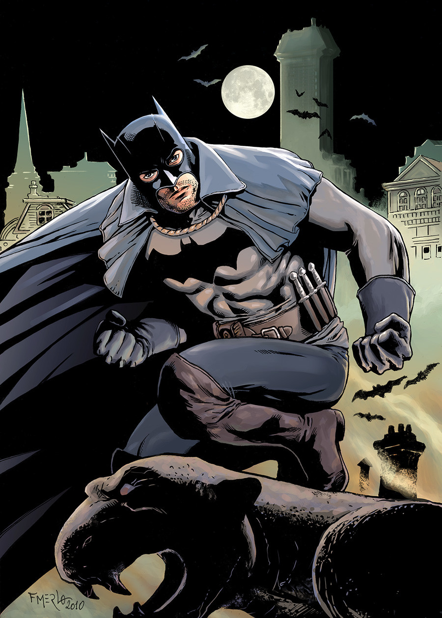 Fernando merlo batman1889 color