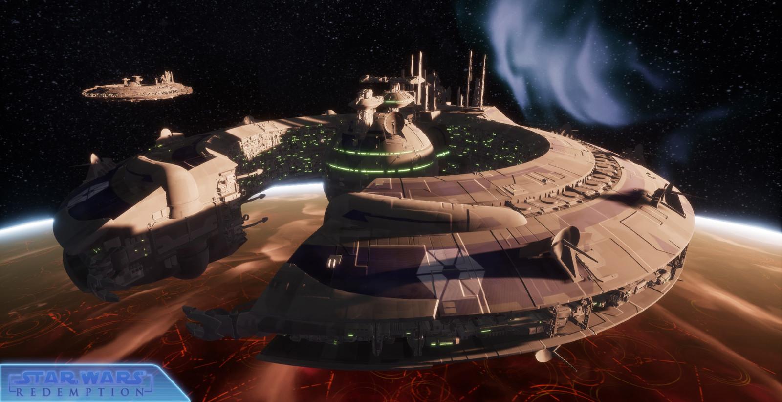 LucreHulk Class Star Destroyer...a LOT of triangles !
